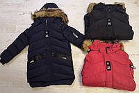 Куртка на меху для мальчиков Glo-Story оптом, 134/140-170 рр. [134/140]