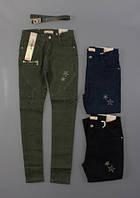 Котоновые брюки для девочек Seagull оптом, 134-164. {есть:134} [Ростовка]