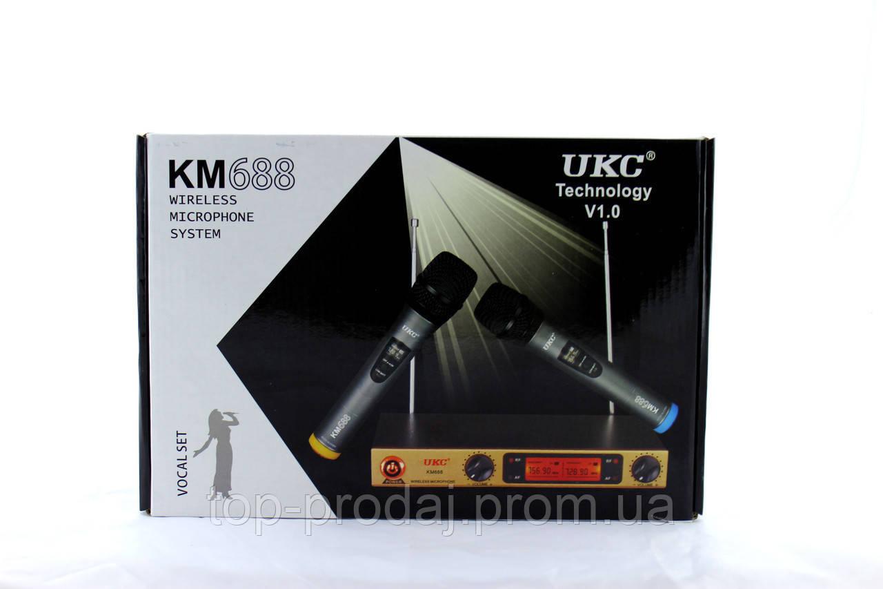 Микрофон DM UKC-688, Динамический микрофон, Беспроводной микрофон, Профессиональная радио система