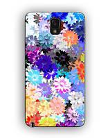 Чехол для Samsung  Note 3 (цветы)