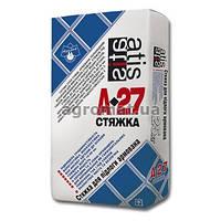 Стяжка армована цементная ATIS A-27 25кг