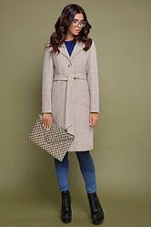 Пальто женское кашемировое, из пальтовой ткани