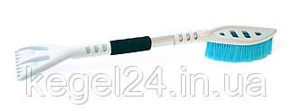 Щетко-скребок WHITE&BLUE XL/ABS/ZM01/670/BN, 670 мм