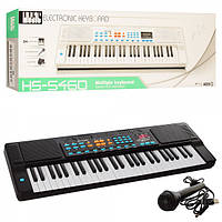 22ea3e49a45c Синтезатор HS5460A, 54клавиши, микрофон, запись, муз, , USBшнур, от сети