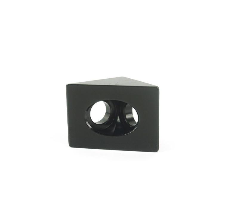 Кутовий з'єднувач 20x20, чорний (угловой соединитель)