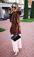 Шуба норковая (автоледи) Модель 200343, фото 1