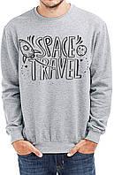 Свитшот мужской SPACE TRAVEL