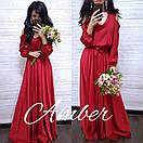 Платье в пол стиль Армани, фото 4