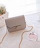 Ділова жіноча сумка скриня на ланцюжку, фото 4