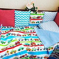 Бортики-защита в кроватку, фото 1