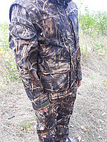 Демисезонный камуфляжный костюм для охоты и рыбалки камыш  skadi