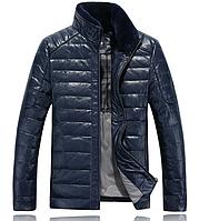 Мужская кожаная куртка. Дубленка мужская .Арт.133, фото 1