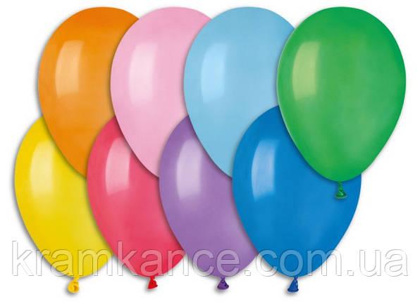 """Надувные шары """"Металлик Ассорти"""" Gemar Balloons GM90/82 (21 см/8"""", арт. 09821, упаковка 100 шт), фото 2"""