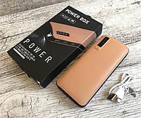 Power Bank 50000 mah Коричневый c экраном 3 USB + фонарик Тонкий,УМБ,павер банк