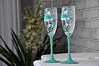 Свадебные бокалы  №1566