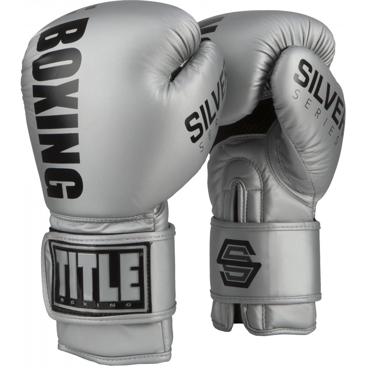 Боксерські рукавички TITLE Silver Series Select Training