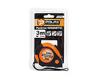 Рулетка Polax Magnetic 3 м х 16 мм (29-0088)