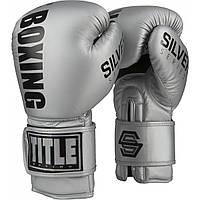 Боксерские перчатки TITLE Silver Series Select Training
