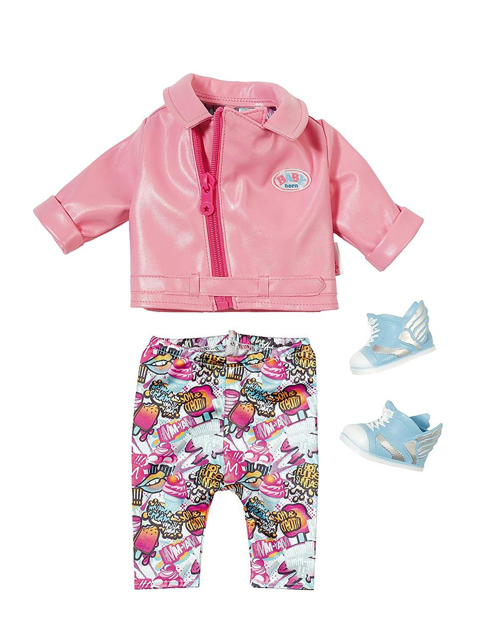 Одежда кукол Беби Борн Baby Born Костюм для скутера City Scooter Deluxe Outfit Zapf Creation 825259