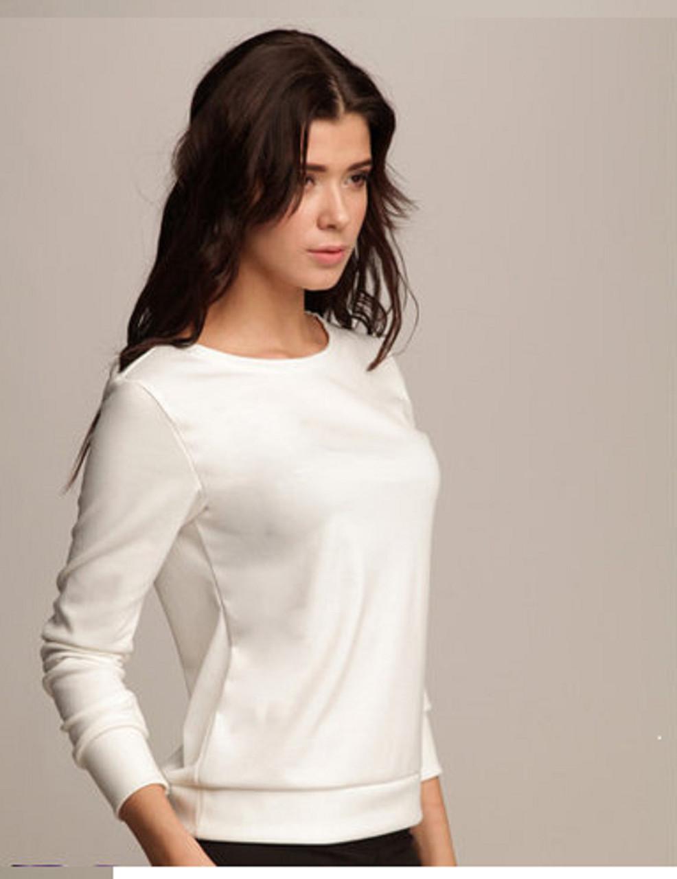 Качественная женская кофта с длинным рукавом