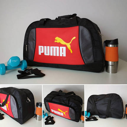 Текстильная сумка для тренировок Пума 49*30*19 см, фото 2