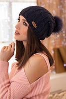 Женская шапка-колпак с бубоном Магдалина, фото 1