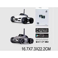 Танк-шпион 777-270 1334641 24шт2 с видеок, упр.через iPhone,iPad..поср.Wi-Fi,в коробке 22177см