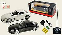 Іграшка машина рк MZ арт 2024 Mercedes-Benz SLS 34159 см 1:14 акум у комплекті 3 кольори
