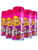Lickedy sour candy drink Lips