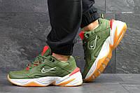 Кроссовки мужские Nike M2K Tekno зеленые, фото 1