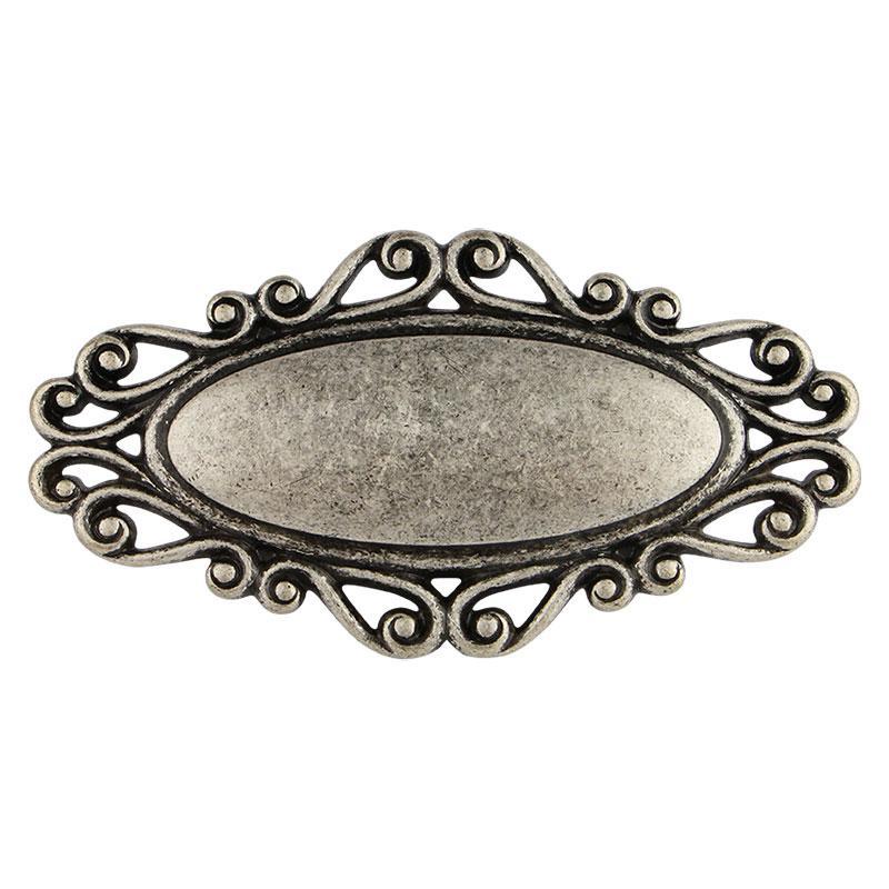 Ручка мебельная Marella D 24258.01.060 античное серебро. Распродажа - фото 2