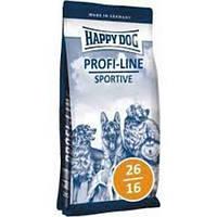 Cухой корм Happy Dog Profi-Line Sportive 26/16  для собак с мясом птицы 20 кг.