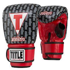 Снарядные перчатки TITLE Muay Thai Pro Bag Gloves