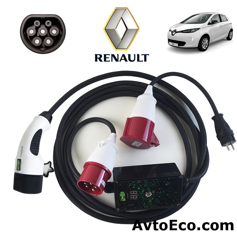 Зарядное устройство для электромобиля Renault Zoe ZE AutoEco 32A-BOX (1 ФАЗНОЕ)