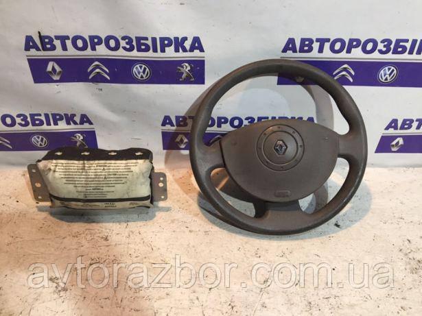 Подушка безопасности в руль Renault Kangoo 2008-2012 Рено Кенго