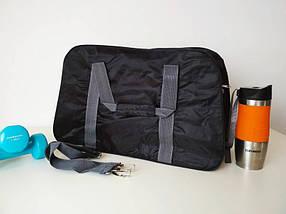Спортивная сумка для тренировок с двумя ручками и плечевым ремнем T 90 49*30*19 см, фото 3