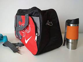 Спортивная сумка для тренировок с двумя ручками и плечевым ремнем T 90 49*30*19 см, фото 2