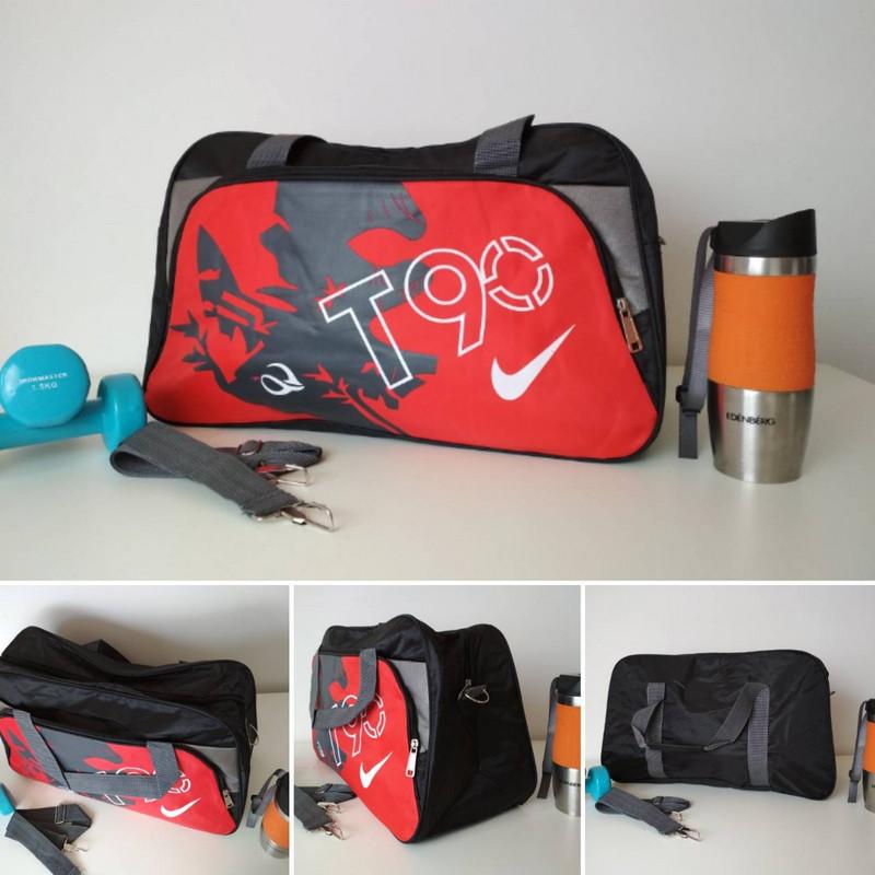 Спортивная сумка для тренировок с двумя ручками и плечевым ремнем T 90 49*30*19 см
