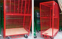 Клетки-контейнеры для транспортировки груза