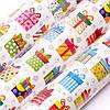 Декоративная бумага для упаковки подарков в рулонах 10 метров