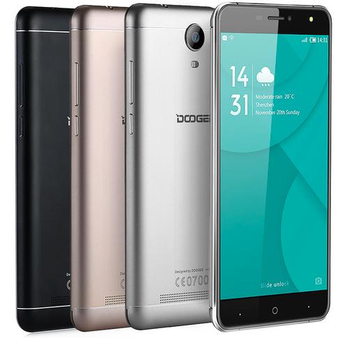 """Doogee X7 Pro  (1280x720) / 6"""" / Золотой / Черный /Розовый / Curved Glass / MT6737 / 2Гб /16Гб /8Мп  /3700мАч"""