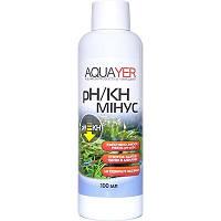 AQUAYER pH/KH минус средство для снижения карбонатной жесткости и рН воды в аквариуме 100мл