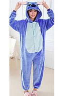 Детская пижама Кигуруми - Стич сииний