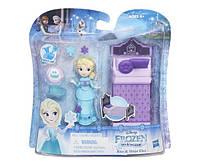 Disney Frozen Маленькая кукла Холодное сердце с аксессуарами «Сияющая Эльза» B7461
