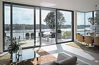 Алюминиевые окна, двери, офисные перегородки, балконные рамы, раздвижные системы