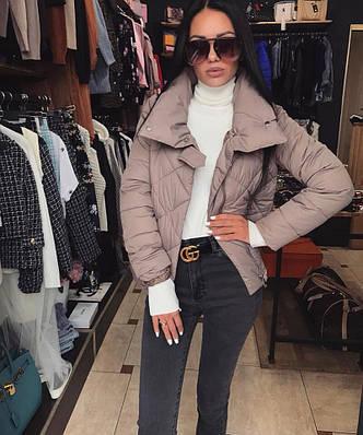 Женская стильная укороченная куртка