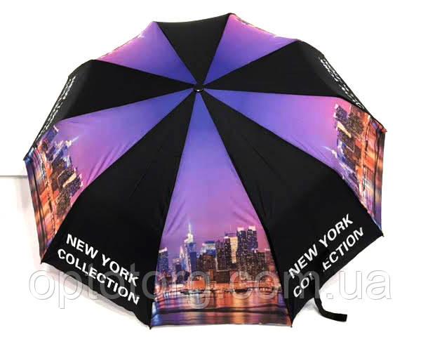 """Зонт складной New York женский с системой """"антиветер"""" арт. 00515, фото 1"""
