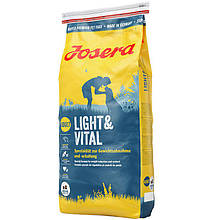 Josera (Йозера) Light & Vital специальный корм для контроля веса молодых и пожилых собак, 4.5 кг