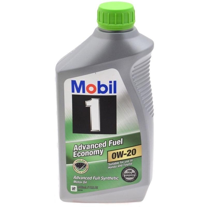 Моторное масло MOBIL1  0W-20 1л