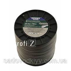 Леска для триммера Зенит профи - Двойная с кордом 3,0 мм х 730 м